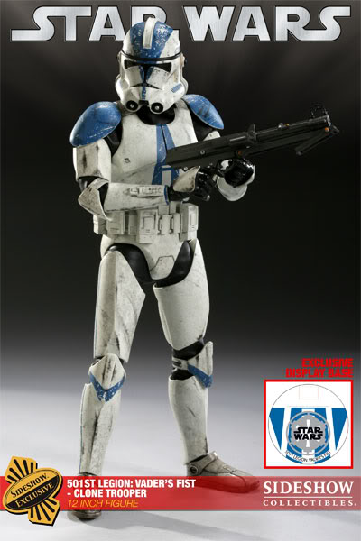 The 501st Legion: Vader's Fist Clone Trooper 12-inch Figure 501-001
