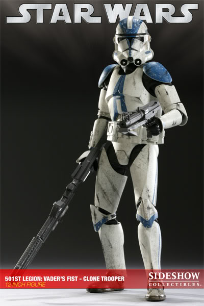 The 501st Legion: Vader's Fist Clone Trooper 12-inch Figure 501-006