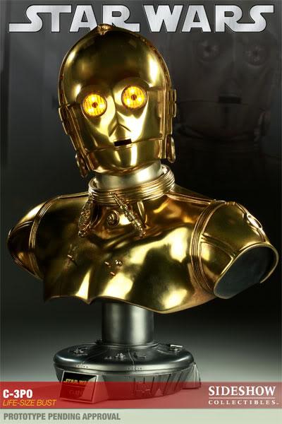 C-3PO LIFE SIZE BUST C3POLifeSizeBust01