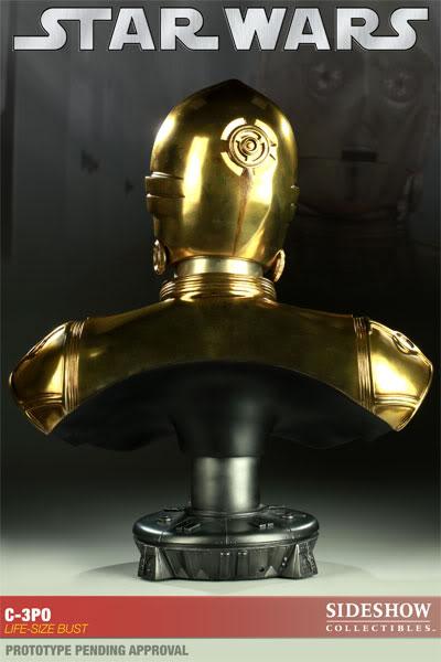 C-3PO LIFE SIZE BUST C3POLifeSizeBust03