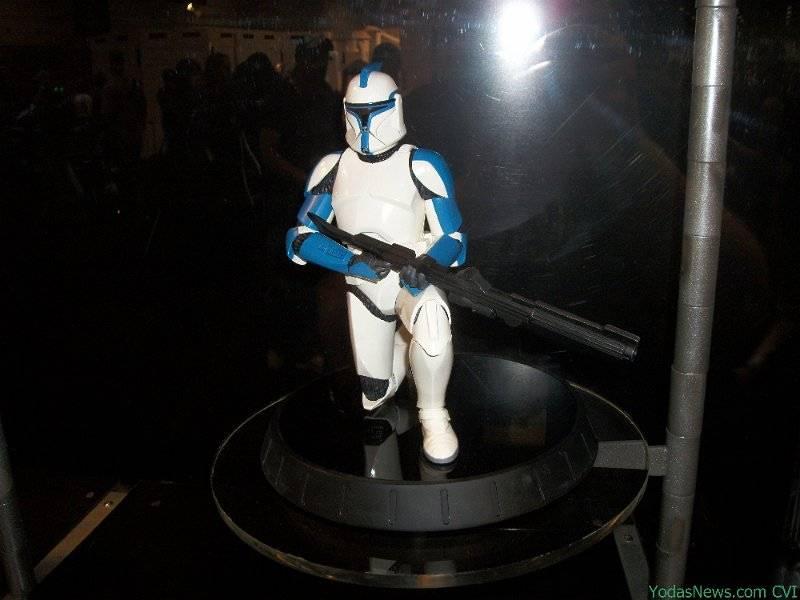 GG - Blue Clone Trooper Statue BlueClone06