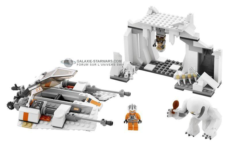 LEGO - 8089 - Hoth Wampa Cave Lego8098b