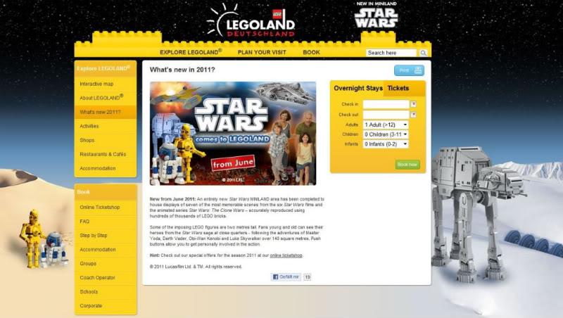 STAR WARS Miniland - LEGOLAND California  - Page 2 LegoLandDeutschland01