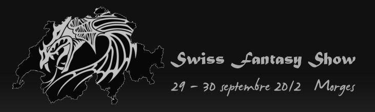 Swiss Fantasy Show - 29/30 Septembre 2012 Morges (CH) Logo
