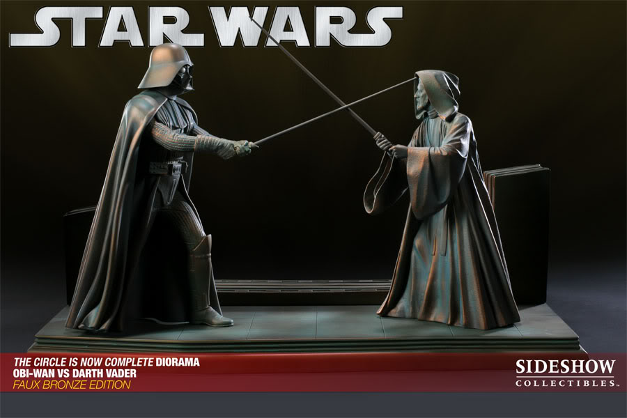 """Obi Wan-Darth Vader """"The Circle Is Now Complete"""" - Page 2 ObiWanvsVaderFauxBronze01"""