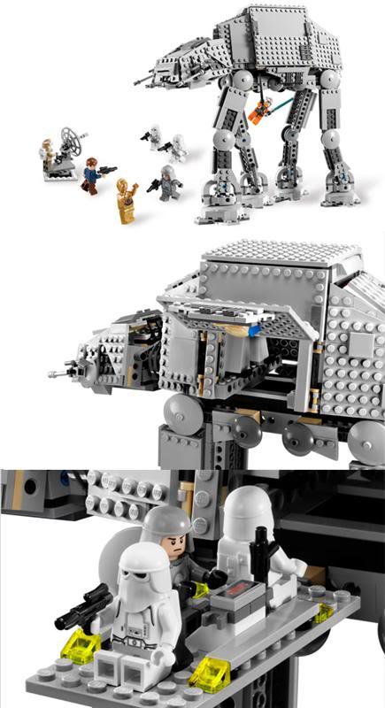 LEGO - 8129 - AT-AT Walker ATAT02