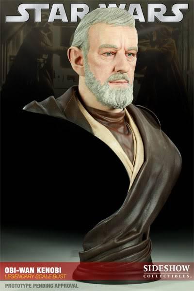 Ben Obiwan Kenobi- Legendary scaled bust BenObiwanKenobiLegendBust01