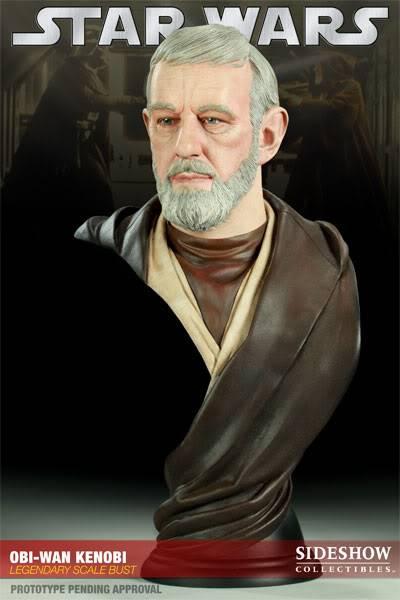 Ben Obiwan Kenobi- Legendary scaled bust BenObiwanKenobiLegendBust02