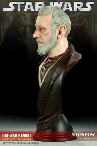 Ben Obiwan Kenobi- Legendary scaled bust BenObiwanKenobiLegendBust03