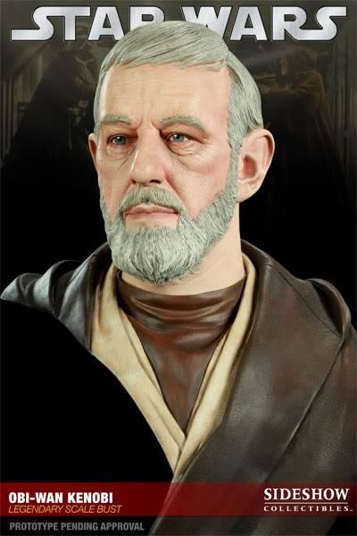 Ben Obiwan Kenobi- Legendary scaled bust BenObiwanKenobiLegendBust05