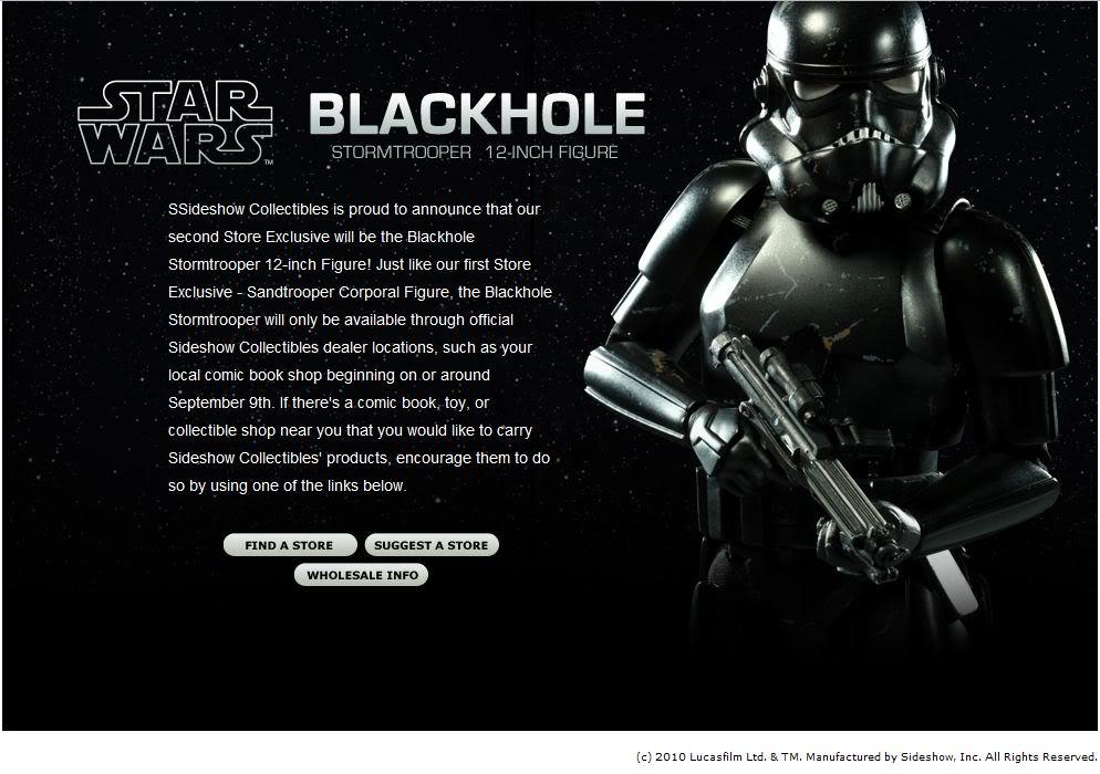 Sideshow - Blackhole Stormtrooper 12' BlackholeStormtrooper01
