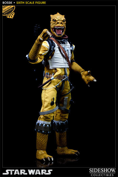 "Sideshow - Bossk Bounty Hunter - 12"" Sixth Scale Figure Bossk05"