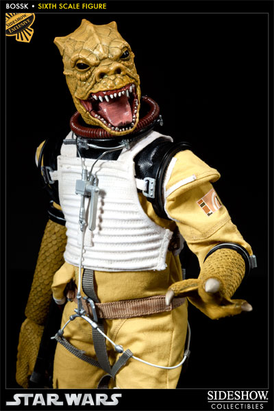 "Sideshow - Bossk Bounty Hunter - 12"" Sixth Scale Figure Bossk06"