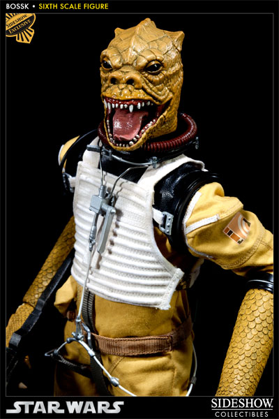 "Sideshow - Bossk Bounty Hunter - 12"" Sixth Scale Figure Bossk07"
