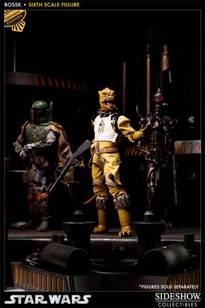 "Sideshow - Bossk Bounty Hunter - 12"" Sixth Scale Figure Bossk08"