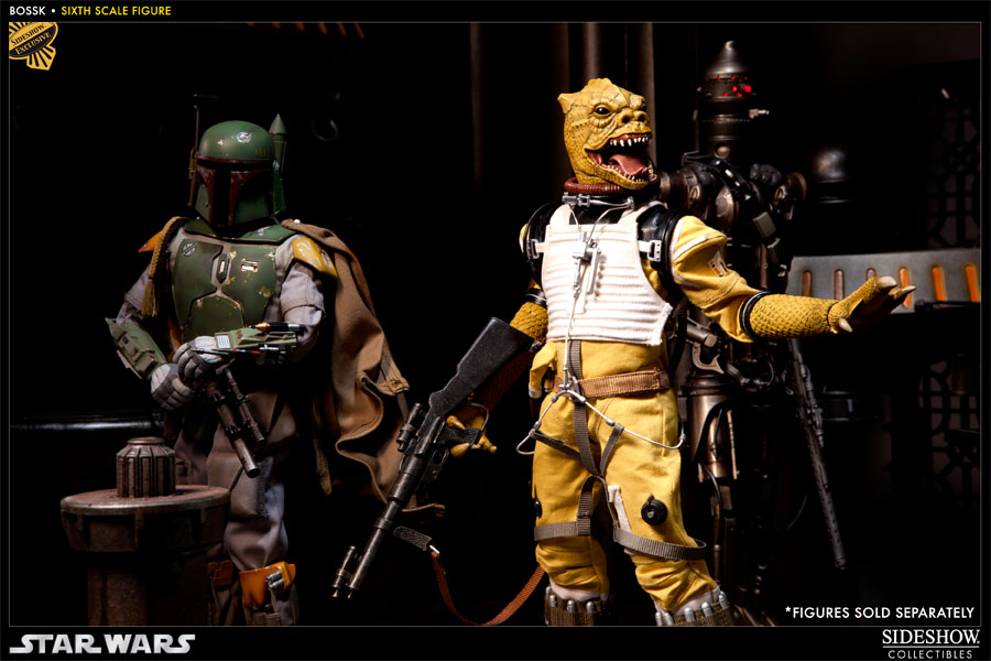"Sideshow - Bossk Bounty Hunter - 12"" Sixth Scale Figure Bossk09"