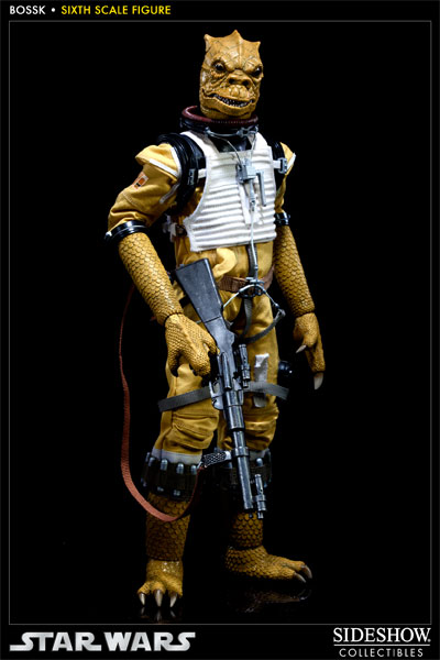 "Sideshow - Bossk Bounty Hunter - 12"" Sixth Scale Figure Bossk10"