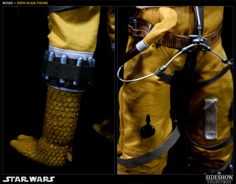 "Sideshow - Bossk Bounty Hunter - 12"" Sixth Scale Figure Bossk12"