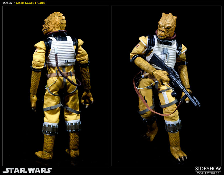 "Sideshow - Bossk Bounty Hunter - 12"" Sixth Scale Figure Bossk14"
