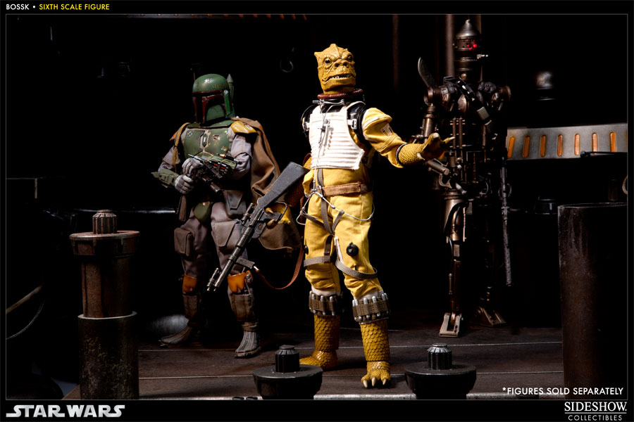 "Sideshow - Bossk Bounty Hunter - 12"" Sixth Scale Figure Bossk16"