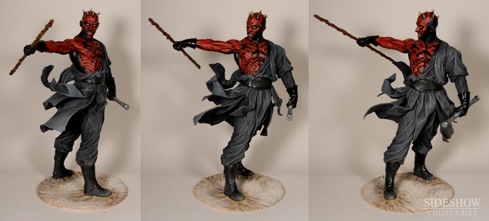 """Sideshow - Mythos - Darth Maul """"Dark Disciple"""" Polystone DarthMaulMythos07"""
