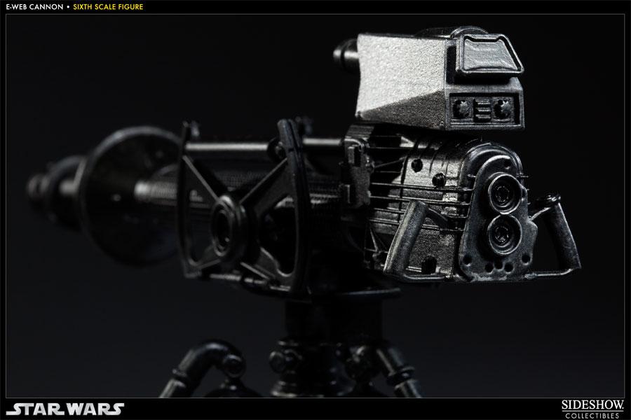 "Sideshow Collectibles - 12"" - Snowtrooper Hoth Battle  E-WebCannon08"
