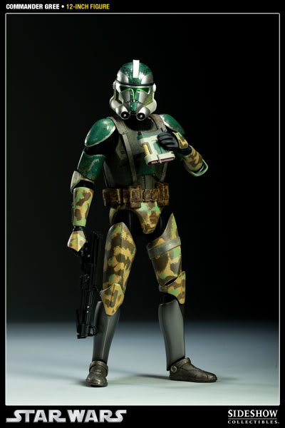Sideshow - Commander Gree - 12 inch Figure  Gree0