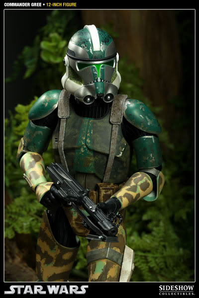 Sideshow - Commander Gree - 12 inch Figure  Gree03