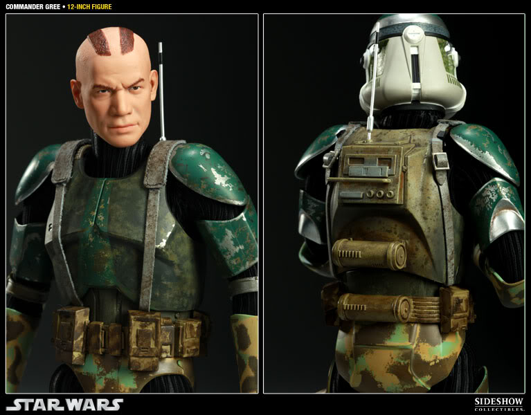 Sideshow - Commander Gree - 12 inch Figure  Gree06