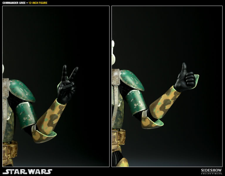 Sideshow - Commander Gree - 12 inch Figure  Gree07