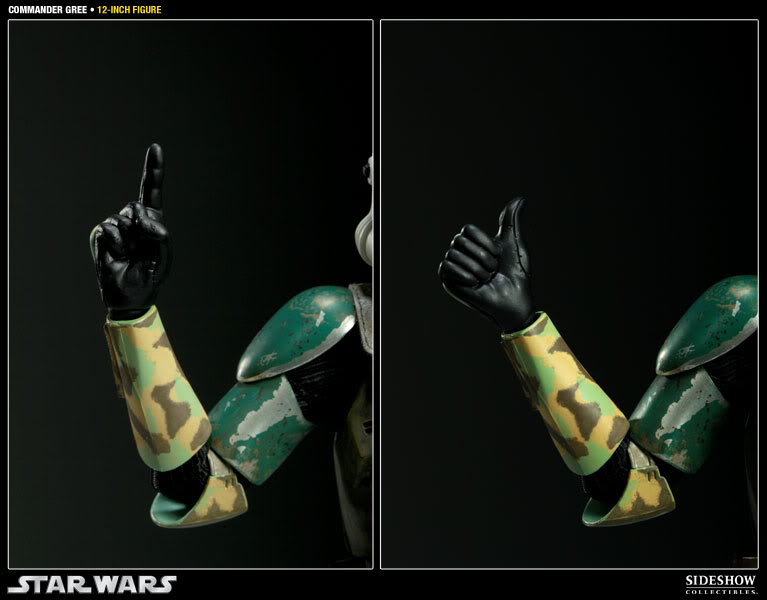 Sideshow - Commander Gree - 12 inch Figure  Gree10