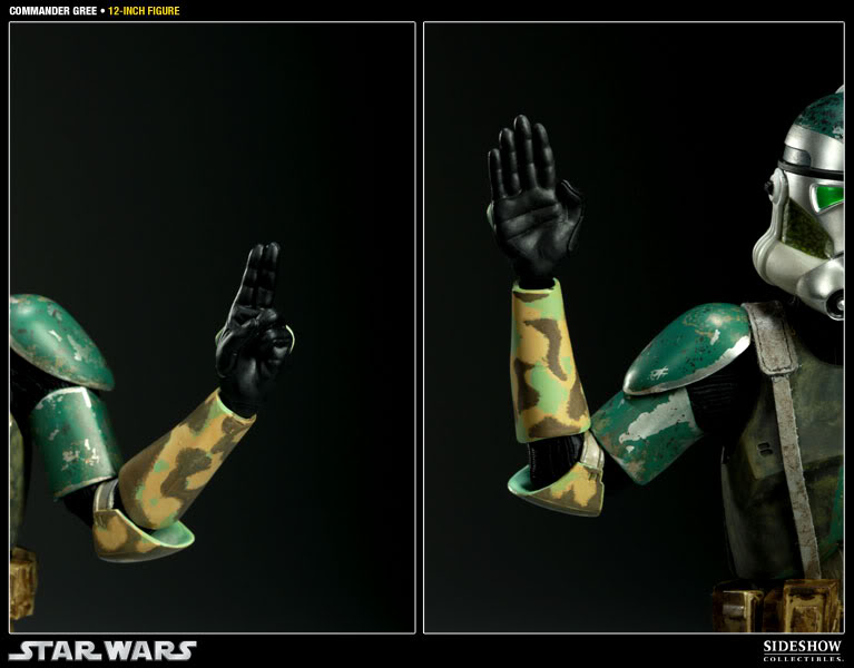 Sideshow - Commander Gree - 12 inch Figure  Gree11