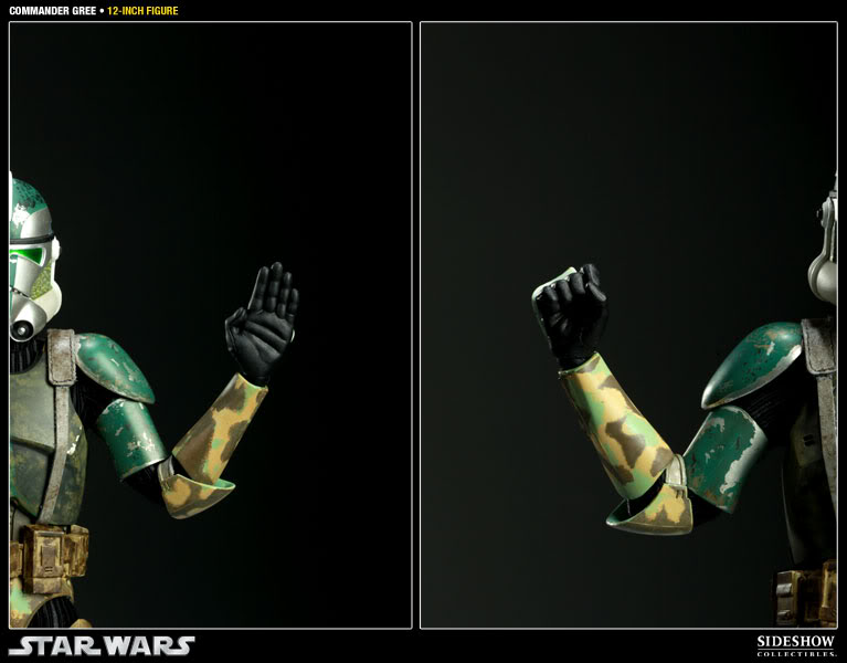 Sideshow - Commander Gree - 12 inch Figure  Gree12