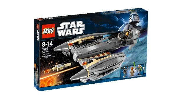 LEGO - 8095 - General Grievous' Starfighter GrivStar01