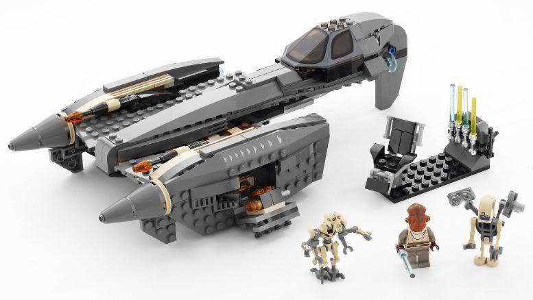 LEGO - 8095 - General Grievous' Starfighter GrivStar02