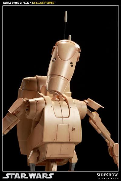 Sideshow - Infantry Battle Droids 12 inch Figure InfantryBattleDroids05