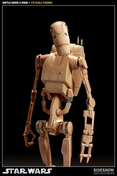 Sideshow - Infantry Battle Droids 12 inch Figure InfantryBattleDroids06