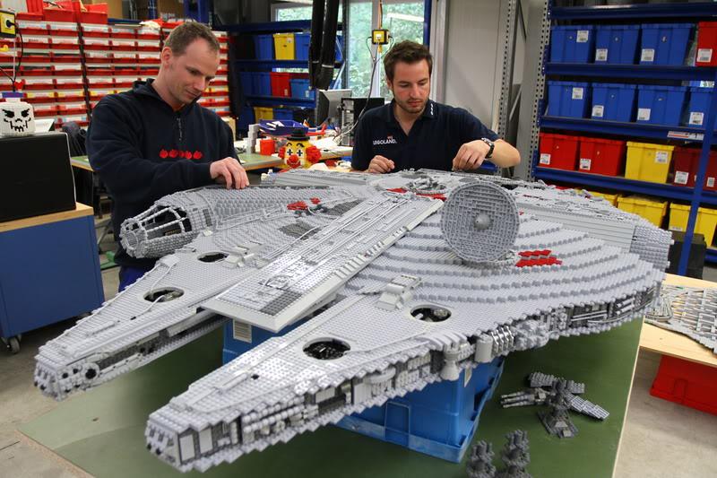 STAR WARS Miniland - LEGOLAND California  LegoMiniland02