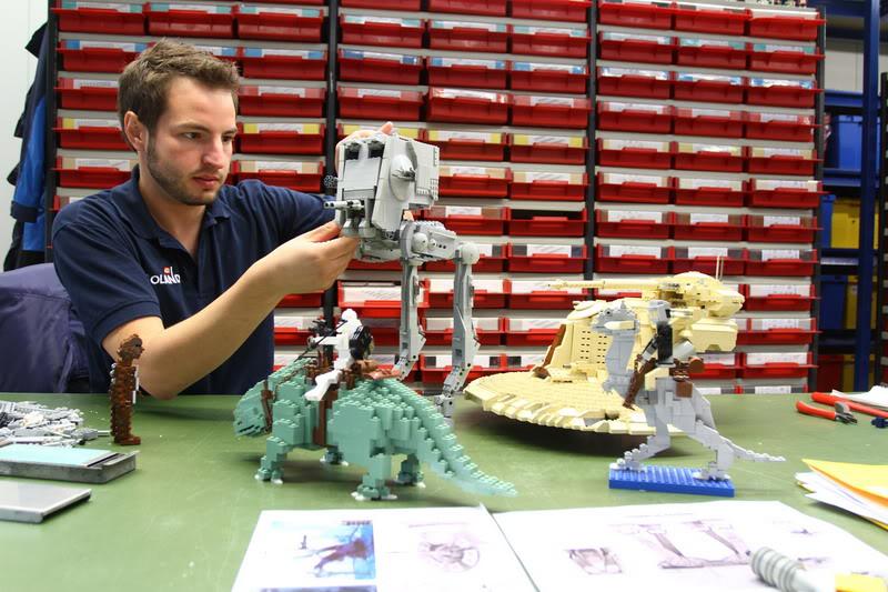 STAR WARS Miniland - LEGOLAND California  LegoMiniland03