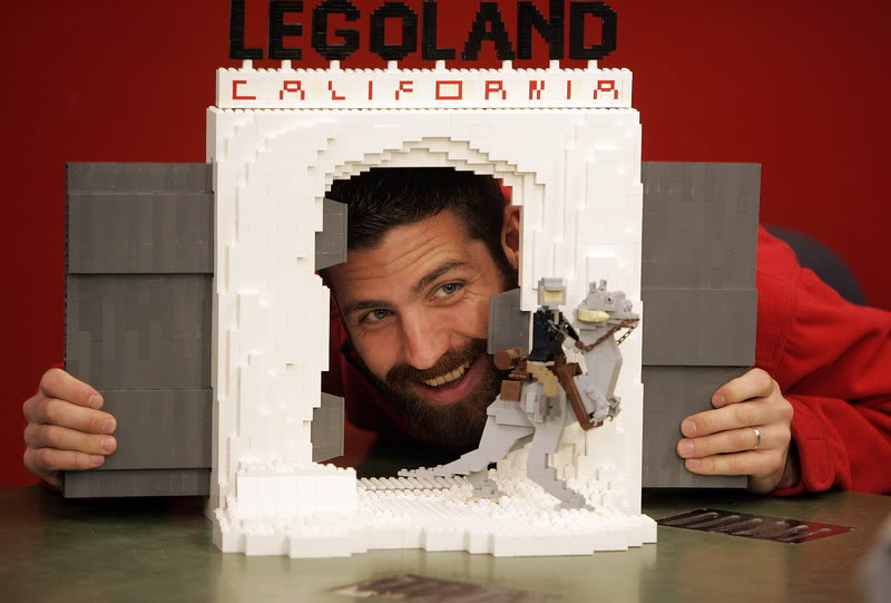 STAR WARS Miniland - LEGOLAND California  LegoMiniland04