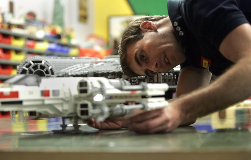 STAR WARS Miniland - LEGOLAND California  LegoMiniland05