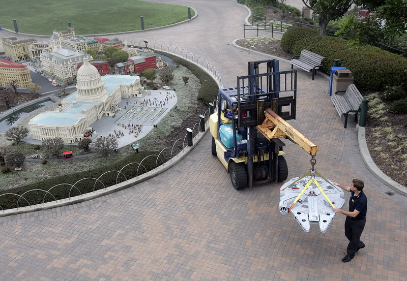STAR WARS Miniland - LEGOLAND California  LegoMiniland08
