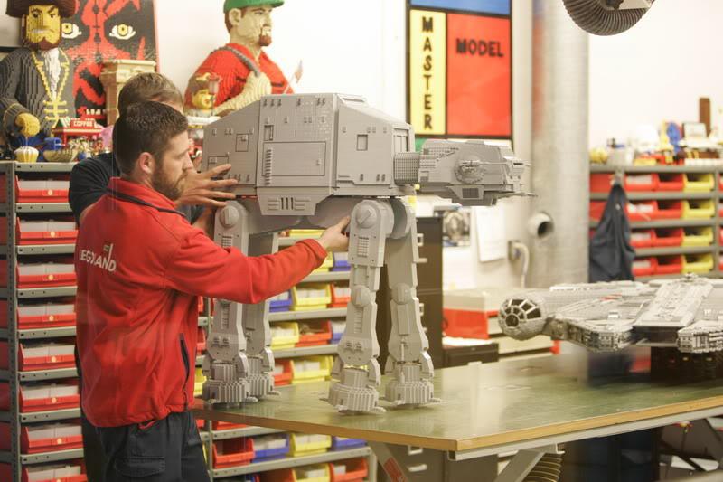 STAR WARS Miniland - LEGOLAND California  LegoMiniland10