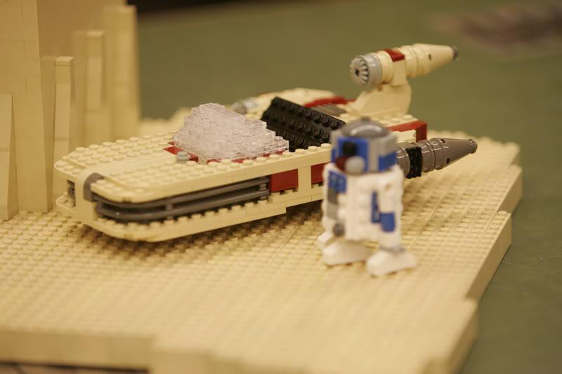 STAR WARS Miniland - LEGOLAND California  LegoMiniland11