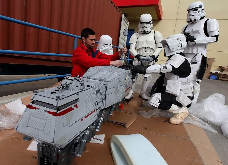 STAR WARS Miniland - LEGOLAND California  LegoMiniland12
