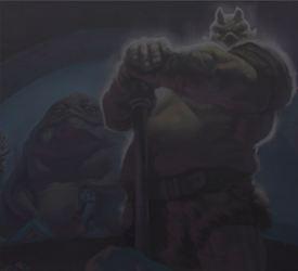 Sideshow - Mythos - Lomrokk - Jabba's Gamorrean Executioner LomrockMythos01