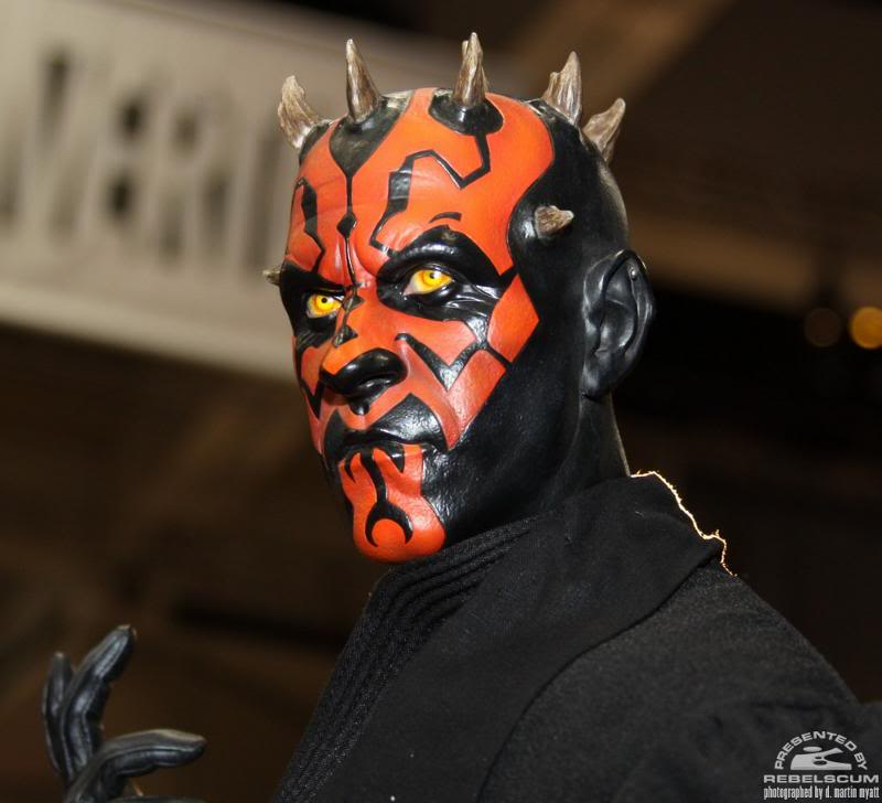 Sideshow - Darth Maul - Legendary Scale Figure  Maul02