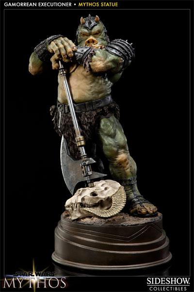 Sideshow - Mythos - Lomrokk - Jabba's Gamorrean Executioner MythosGamor11