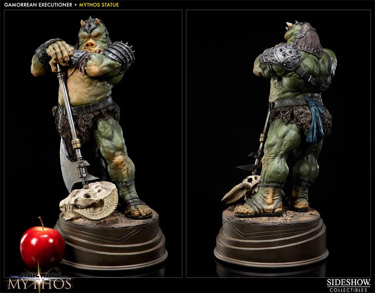 Sideshow - Mythos - Lomrokk - Jabba's Gamorrean Executioner MythosGamor13