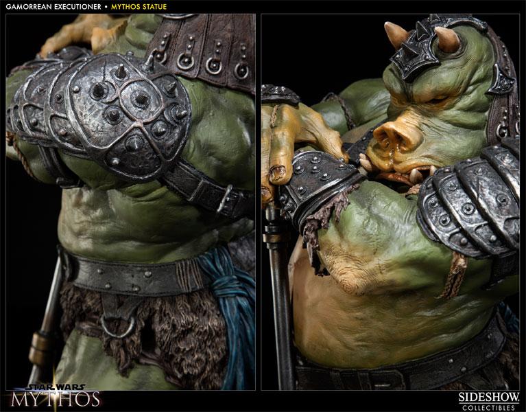 Sideshow - Mythos - Lomrokk - Jabba's Gamorrean Executioner MythosGamor14